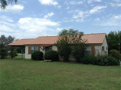 Hubbard Single Family Home Active Option Contract: 21980 N Fm 709