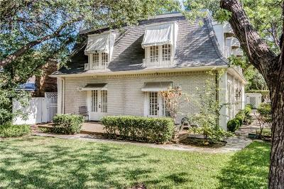 Single Family Home For Sale: 5501 Hillcrest Avenue