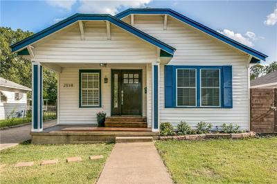 Dallas Single Family Home For Sale: 2518 Kingston Street