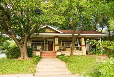 Fort Worth Single Family Home For Sale: 2001 Hurley Avenue