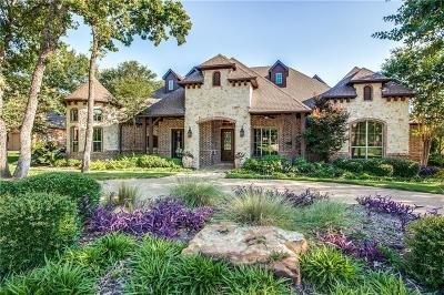 Keller Single Family Home Active Option Contract: 632 Meandering Woods Drive