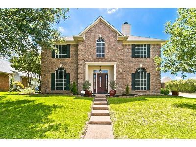 Carrollton Single Family Home For Sale: 4227 Oak Mount Drive