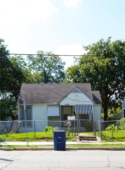 Dallas Residential Lots & Land For Sale: 4326 Capitol Avenue