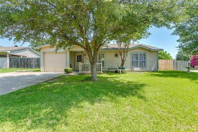 Arlington Single Family Home Active Option Contract: 3805 Indian Wells Drive