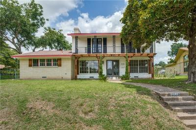 Dallas Single Family Home Active Option Contract: 1253 Willow Glen Drive