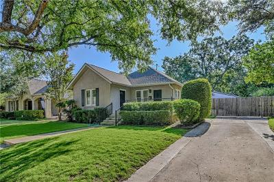 Fort Worth Single Family Home For Sale: 2705 Greene Avenue
