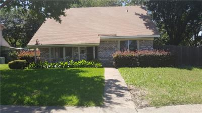 Garland Single Family Home Active Option Contract: 2637 Sam Houston Drive