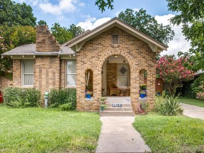 Dallas Single Family Home For Sale: 2515 Burlington Boulevard