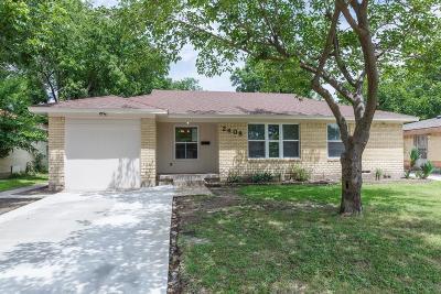 Dallas Single Family Home For Sale: 2408 Utica Drive
