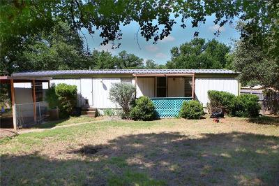 Millsap TX Single Family Home Active Contingent: $59,000