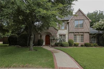 Coppell Single Family Home For Sale: 765 Armstrong Boulevard