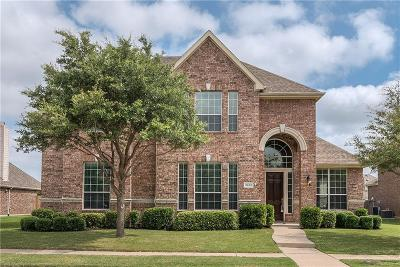 Frisco Single Family Home Active Option Contract: 3908 Banner Drive