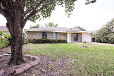 Kaufman Single Family Home Active Option Contract: 1706 Phillips Lane