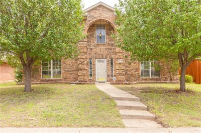 Mesquite Single Family Home For Sale: 3115 Antelope Drive