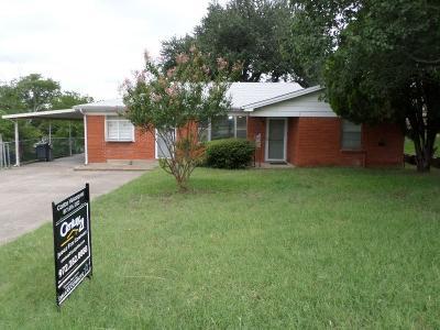 White Settlement Single Family Home For Sale: 8504 Gibbs Drive