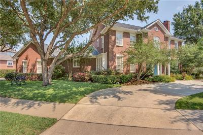 Irving Single Family Home For Sale: 1454 Cottonwood Valley Court