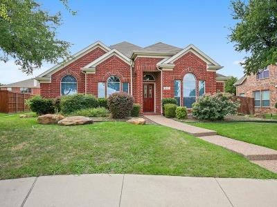 Frisco Single Family Home Active Option Contract: 11171 Mansfield Drive
