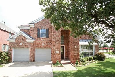 Denton Single Family Home For Sale: 3400 Marymount Drive
