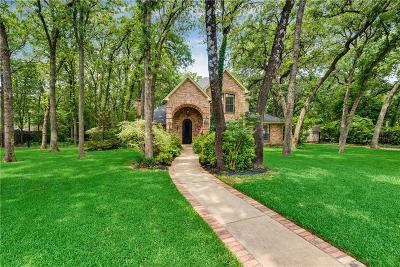 Keller Single Family Home For Sale: 1601 Westminster Trail