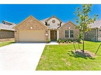 Fort Worth TX Single Family Home Active Option Contract: $255,750