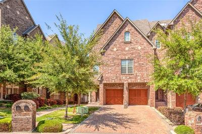 Dallas County, Denton County Townhouse Active Contingent: 819 Rockingham Drive