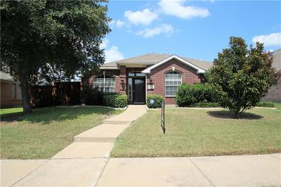 Allen Single Family Home Active Contingent: 1313 Cassandra Lane