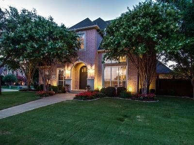 Coppell Single Family Home Active Option Contract: 148 Levee Place