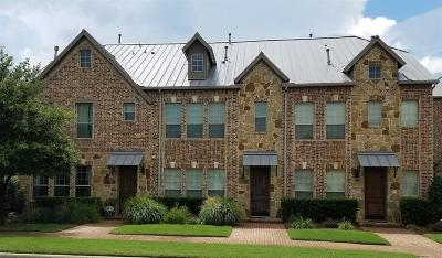 Plano Townhouse For Sale: 7939 Parkwood Boulevard
