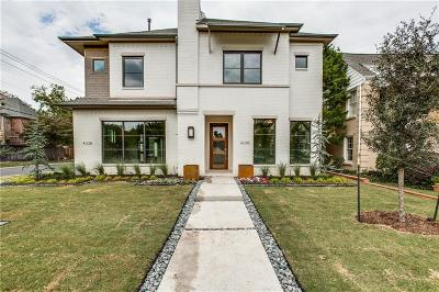 University Park Single Family Home For Sale: 4336 Glenwick Lane