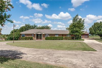 Denton Single Family Home Active Option Contract: 4873 Rector Road