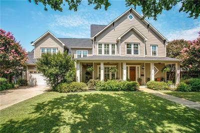 Mckinney Single Family Home For Sale: 714 Parker Street