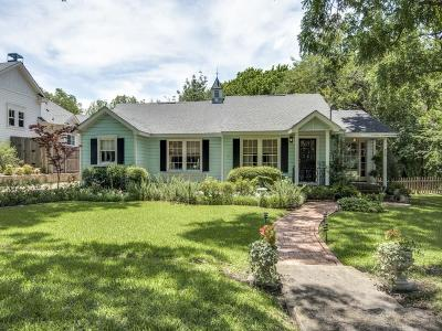 McKinney Single Family Home Active Contingent: 909 W Hunt Street