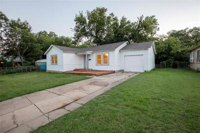 Haltom City Single Family Home Active Option Contract: 3705 Katrine Street