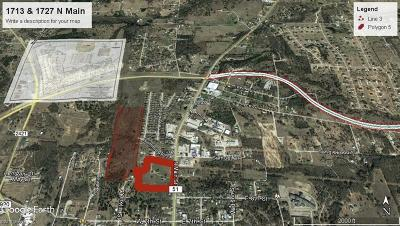 Weatherford Commercial Lots & Land For Sale: 1713 N Main Street