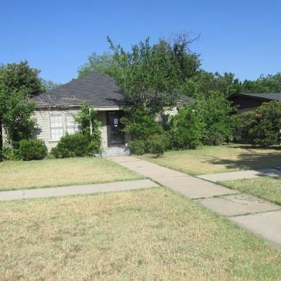 Abilene Single Family Home For Sale: 750 Victoria Street