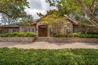 Dallas Single Family Home For Sale: 6407 Clubhouse Circle