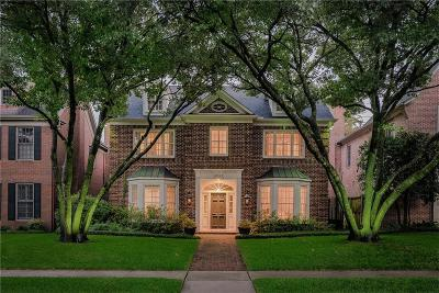 University Park Single Family Home Active Contingent: 4061 Stanford Avenue