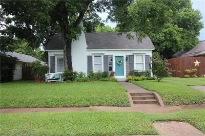 Waxahachie Single Family Home For Sale: 316 Harbin Avenue