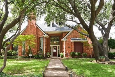 Plano Single Family Home Active Option Contract: 4609 Penbrook Court