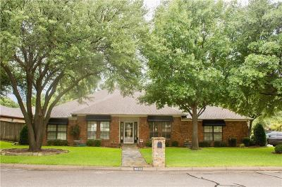 North Richland Hills Single Family Home Active Option Contract: 6612 Hillside Court
