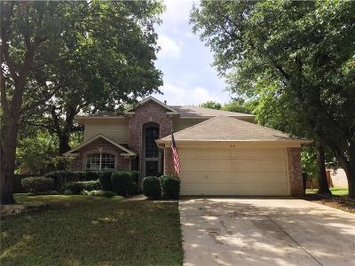 Lake Dallas Single Family Home For Sale: 318 Georgian Oak Court