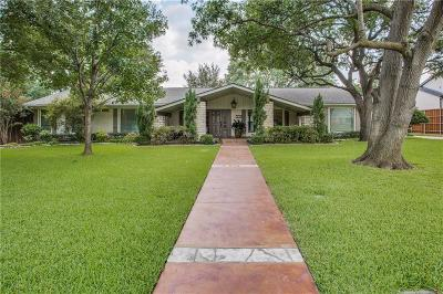 Dallas Single Family Home For Sale: 4706 Ridgeside Drive