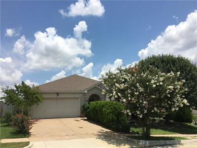 Single Family Home For Sale: 4117 Big Thicket Drive