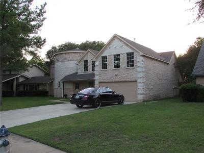 Irving Single Family Home Active Contingent: 813 Beacon Hill Drive