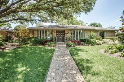 Dallas Single Family Home For Sale: 6251 Glennox Lane