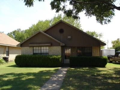 Frisco Single Family Home Active Option Contract: 7011 Walnut Street