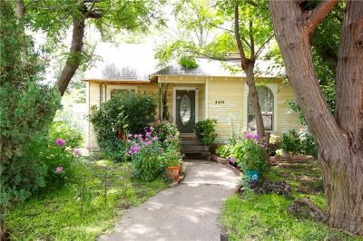 Dallas Single Family Home For Sale: 4418 Capitol Avenue