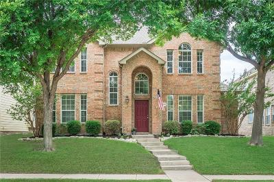 Plano TX Single Family Home Active Option Contract: $375,000