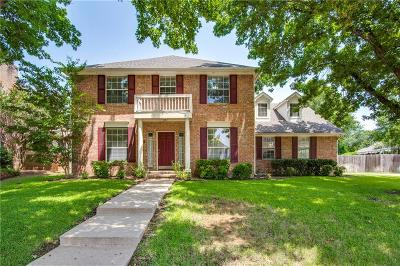 Grapevine Single Family Home For Sale: 2809 Wateridge Court