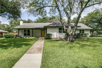 Farmers Branch Single Family Home Active Contingent: 13581 Crestmoor Drive